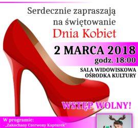 plakat 2 dzień kobiet